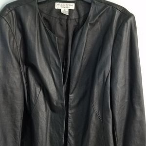 Preston and York leather Jacket